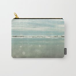 waves and sparkles Carry-All Pouch