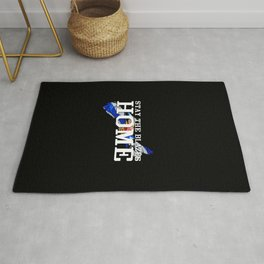 Stay The Blazes Home Rug