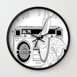 Hippity Hop Wall Clock