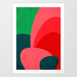 Colors III – Contemporary Abstract Maximalism Illustration Art Print