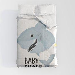 Baby Shark Comforters