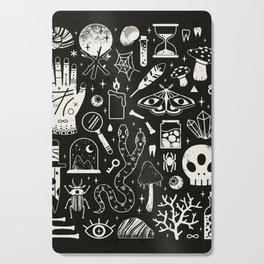 Curiosities: Bone Black Cutting Board