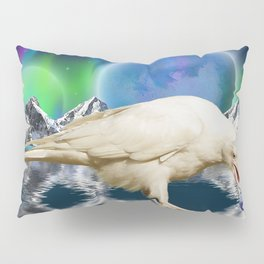 Spirit Raven - Keeper of Worlds Pillow Sham