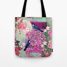 Meeting in the Garden Tote Bag