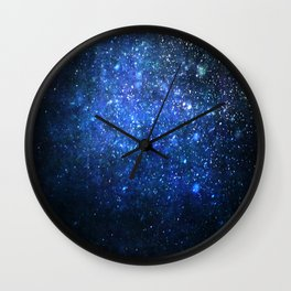 Twinkling blizzard Wall Clock