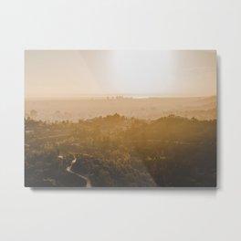 Golden Hour - Los Angeles, California Metal Print