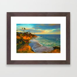 Laguna Beach California Framed Art Print