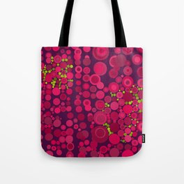 Groovy Dots Tote Bag