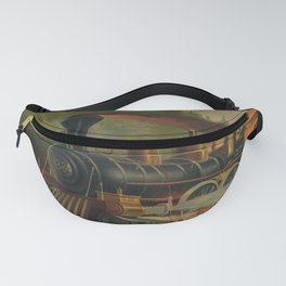 Night Scene on the NY Central Railroad (Currier & Ives) Fanny Pack
