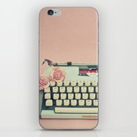 letter iPhone & iPod Skins featuring Love Letter by Cassia Beck