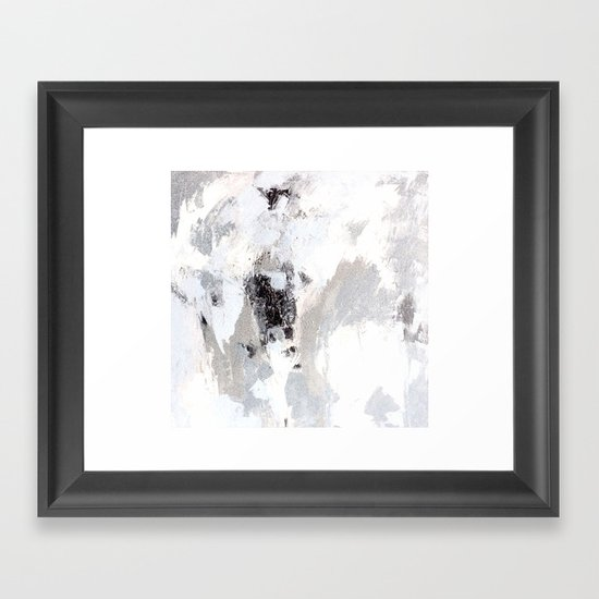calm winter Framed Art Print