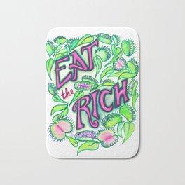 Eat The Rich Bath Mat