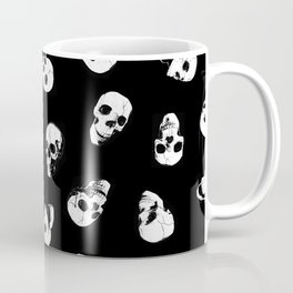Gossiping Skulls Coffee Mug
