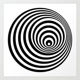 Concentric 1 Art Print
