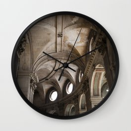 French Architecture Wall Clock