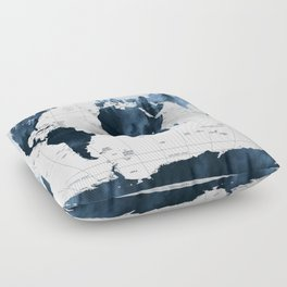 ALLOVER THE WORLD-Woods fog Floor Pillow