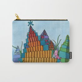 Rainbow Towers Carry-All Pouch