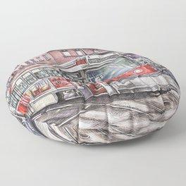 Spadina King Floor Pillow
