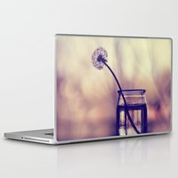 dandelion Laptop & iPad Skins featuring dandelion by Ingrid Beddoes