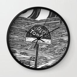 Pine Town Wall Clock
