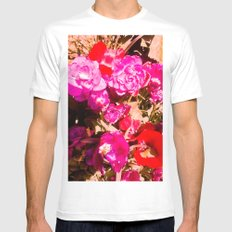 The beauty of the colors. MEDIUM White Mens Fitted Tee