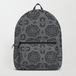 Sharkskin Doily Floral Backpack