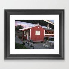 Gone Fishin', Alaskan Style #2 Framed Art Print
