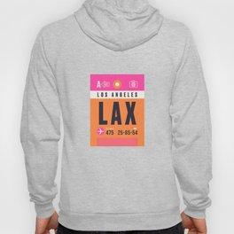 Baggage Tag A - LAX Los Angeles USA Hoody