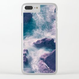 Troubled Waters Clear iPhone Case