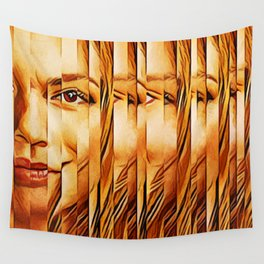 Golden Oranje Dutch Royalty Wall Tapestry
