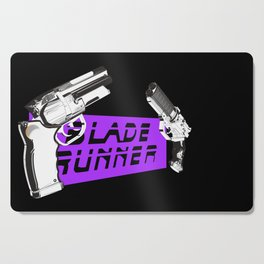 Time to die Version Neon Purple Cutting Board