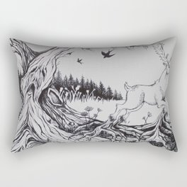 Forest of Fear Rectangular Pillow