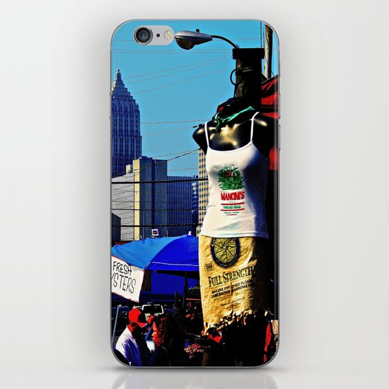 Strip District Model iPhone & iPod Skin
