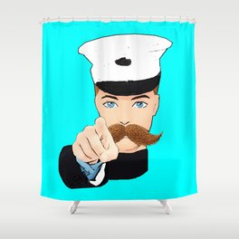 This Artwork Needs You! Shower Curtain