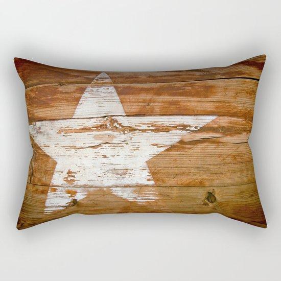 Faded Star Rectangular Pillow