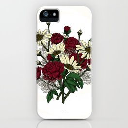 """Flower Arrangement Fall in Love Series """" Lover favourite"""" iPhone Case"""