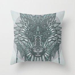 Soul Wolf Throw Pillow