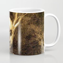 "Odilon Redon ""Spirit of the forest"" Coffee Mug"
