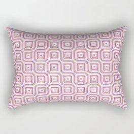 Rose Truchet Tilling Pattern Rectangular Pillow