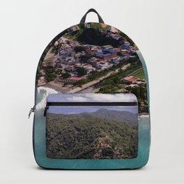 Beautifull Anare Beach, Vargas, Venezuela. Backpack