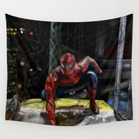 comic Wall Tapestries featuring comic by Fila Venom Art
