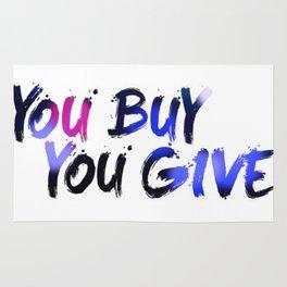 YBYG logo COL Rug