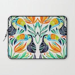 Tropical Toucans Laptop Sleeve