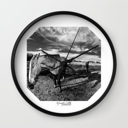 Farm Horse Wall Clock
