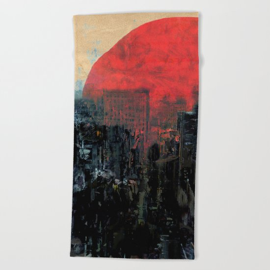 Last Sunshine Beach Towel