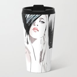 Fashion Painting #5 Travel Mug