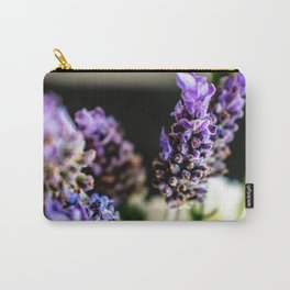 Peaceful Lavender Carry-All Pouch