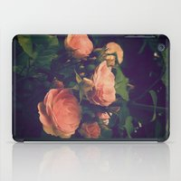 antique iPad Cases featuring Antique Rose by A Wandering Soul