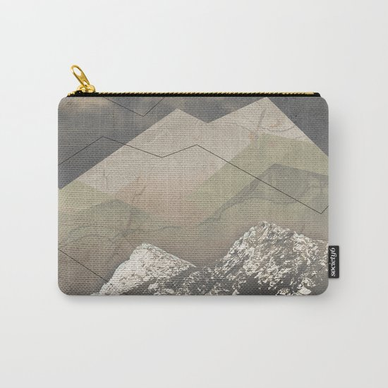 Geometric Sunrise Carry-All Pouch