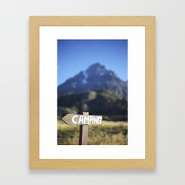 The Scenic Route Framed Art Print